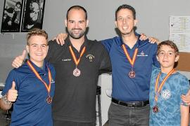 Baleares se hace con la medalla de bronce en el nacional de Salamanca