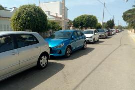 Sin parking para los residentes de Cala Llombards