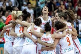 Alba Torrens y Sancho Lyttle conducen a España a su tercer Eurobasket