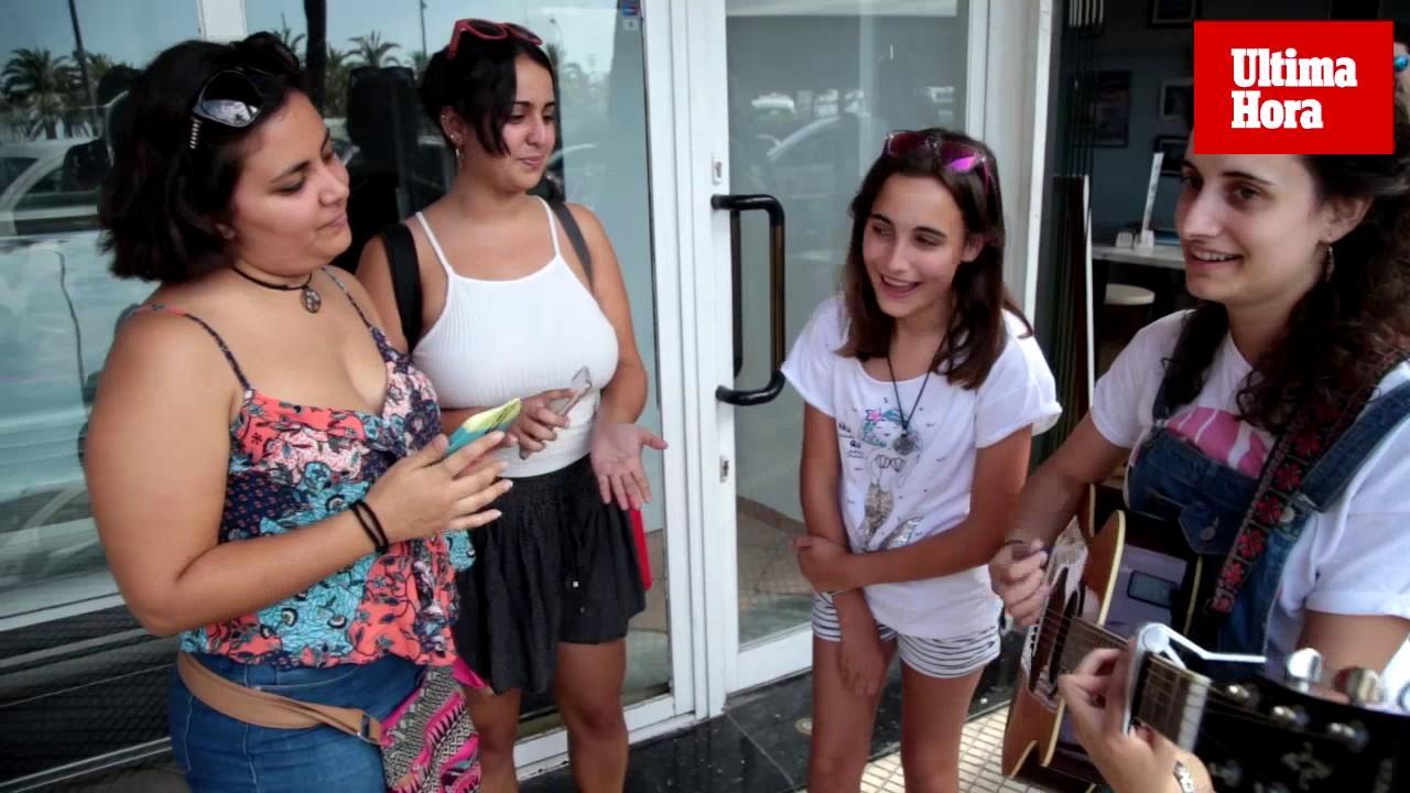 Colas en el casting de Operación Triunfo en Palma