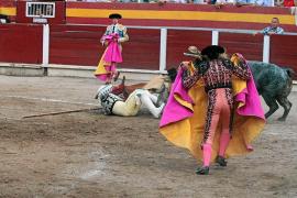 Caos en la corrida de toros en la Monumental de Muro