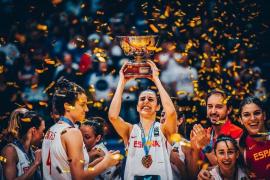 Alba Torrens: «Mi objetivo era la medalla de oro, el MVP es un extra»