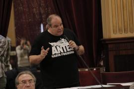 Morràs (Podemos): «Señores del PP, saquen a la mafia de su partido»