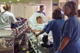 Las enfermeras denuncian el colapso en las Urgencias de Son Espases