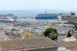 El 'Queen Victoria' y otros 5 cruceros, en Palma