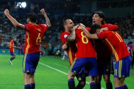 Un triplete de Saúl mete a España en la final
