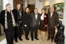 La galería Gabriel Vanrell expone obras de Juan Miralles
