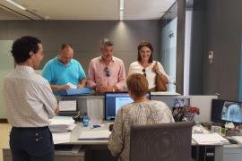 Marga Durán, Aina Aguiló y Jordi Horrach presentan sus candidaturas a la presidencia del PP de Palma
