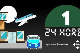 La línea 1 de la EMT dará servicio 24 horas al días, siete días a la semana