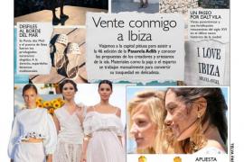 Elisa Pomar, protagonista de las principales revistas de moda
