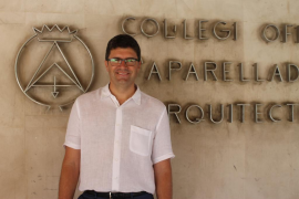 Daniel Tur, nuevo presidente del Colegio de Aparejadores y Arquitectos de Mallorca