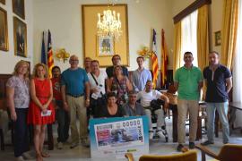 El islote de Es Pontàs, en Santanyí, imagen del cupón de la ONCE del 4 de julio