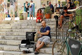 Cort impide a la Policía Local de Palma actuar contra los músicos callejeros