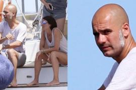 Las patillas veraniegas de Pep Guardiola marcan tendencia