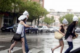 Lluvias potencialmente fuertes para este viernes en Mallorca y Menorca