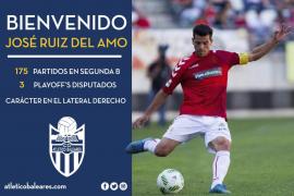Sergio y Del Amo, atados para el Atlètic Balears