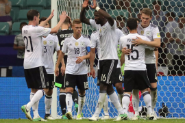 Alemania gana a una México que mereció más y jugará la final con Chile