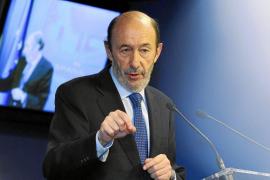 Rubalcaba asegura que sólo trabaja para reducir el paro y no para ser presidente