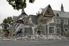 Dos mallorquines en el terremoto de Nueva Zelanda: «Veíamos bailar los edificios»