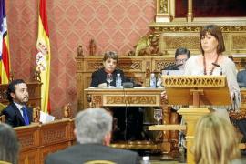 Armengol y el Bloc rebajan la polémica e insinúan un acuerdo sobre la vía conectora