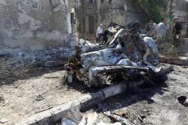 Tres coches bomba dejan al menos 21 muertos y 15 heridos en Damasco