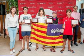 Balears exhibe su potencial en el Campeonato de España de optimist celebrado en el Port de Pollença