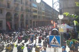 Más de 2.000 motos se reúnen en Jaime III para iniciar una ruta por Mallorca