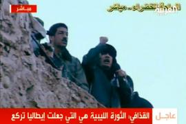 Gadafi alimenta la guerra civil