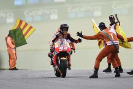 Márquez se corona 'Kaiser' en Sachsenring, donde Lorenzo termina undécimo