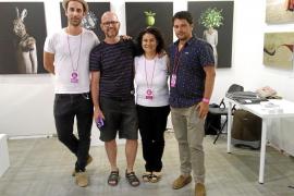 La galería PiART y cinco artistas ibicencos, presentes en la Art Fair de Málaga