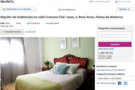Familias de mileuristas comparten vivienda por el alza del alquiler en Palma