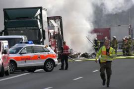 La policía asume que los 18 desaparecidos en el accidente de Alemania han muerto