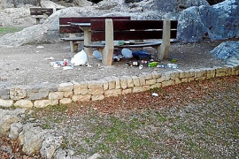 La acumulación de basura en la Serra llegará a la Unesco si el Govern no actúa