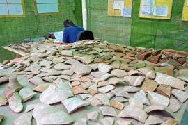 Los arqueólogos podrán 'devolver' a los yacimientos los materiales extraídos