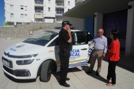 La Policía Local de Sant Antoni adquiere un nuevo coche patrulla