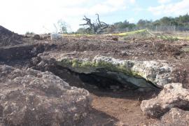 El valor patrimonial de la cueva hallada en Porto Cristo obligará a modificar la variante