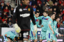 El Mallorca se rinde al Barça