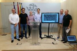 Cort difunde gratuitamente toda la cartografía de Palma