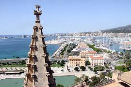 Un interesante plan para el verano: visitas guiadas a las terrazas de la Catedral de Mallorca