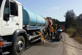 Estabilizado el incendio de Formentera tras el desalojo de 30 personas
