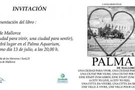 El fotógrafo Guillermo Félix presenta el libro 'Palma de Mallorca, una ciudad para vivir, una ciudad para sentir'