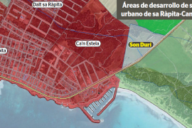 El TSJIB obliga al Consell a ampliar la zona de desarrollo urbano de sa Ràpita