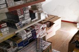 Intervienen en Alcúdia más de 3.100 cajetillas de tabaco para venta irregular