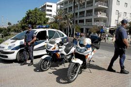 Detenido por un intento de agresión sexual a una turista en la Platja de Palma