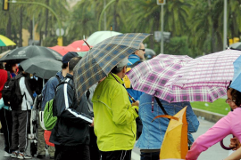 Mallorca registró un mes de febrero más lluvioso y frío de lo habitual
