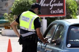 Interceptado en Ibiza el conductor de un microbús que triplicaba el límite de alcohol
