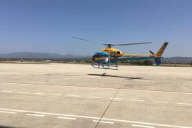 Un helicóptero de la DGT realizará este verano vuelos diarios de mañana y tarde para reducir accidentes en Baleares