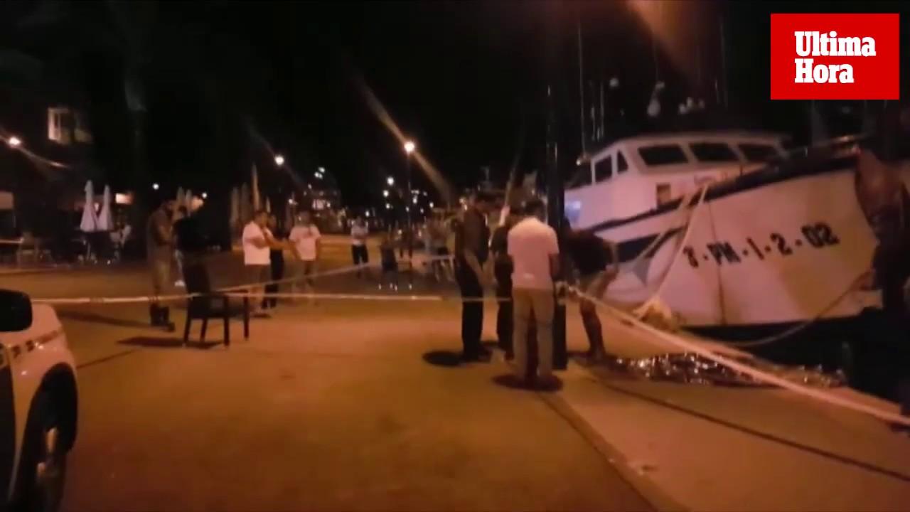 Aparece el cadáver de un hombre flotando en el Puerto de Andratx