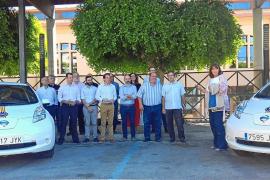 Nigorra Baleares presentó sus primeros taxis eléctricos