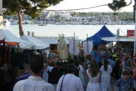 Portocolom celebra las fiestas de la Mare de Déu del Carme